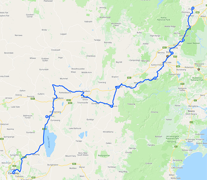 Big-Push-2020_route-map